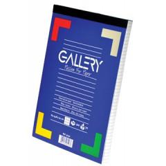Schrijfblok Gallery geniet A5 geruit 100 vel 70gr afscheurbaar