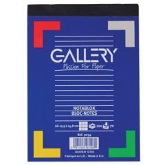 Schrijfblok Gallery 10,5X14,8cm A6 geruit 100 vel