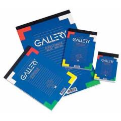 Schrijfblok Gallery 7,4X10,5cm A7 geruit 100 vel
