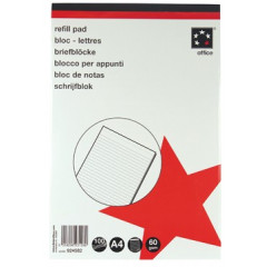 Schrijfblok 5 Star geniet A4+ gelijnd 100 vel 60gr afscheurbaar