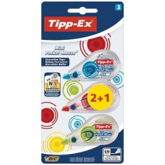 Correctieroller Tipp-ex mini pocket mouse fashion (2+1)