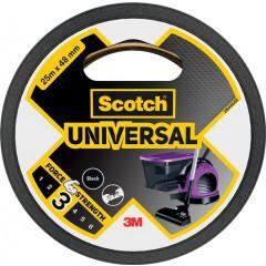 Ducttape Scotch Universal 48mmx25m zwart