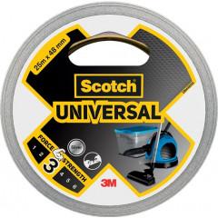 Ducttape Scotch Universal 48mmx25m zilver