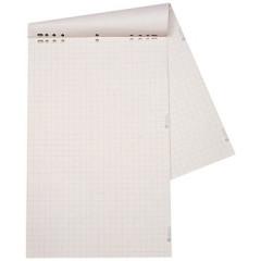 Papierblok voor flipchart Dahle 68x95cm geruit 20 vel