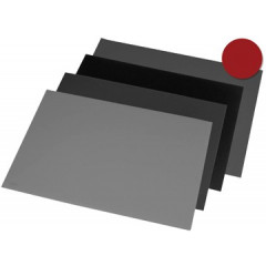 Bureau-onderlegger Rillstab 40x53cm bordeaux