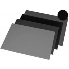 Bureau-onderlegger Rillstab 40x53cm zwart