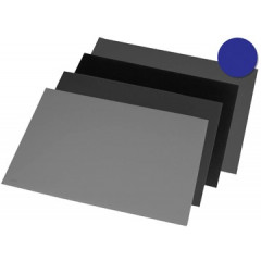 Bureau-onderlegger Rillstab 40x53cm blauw