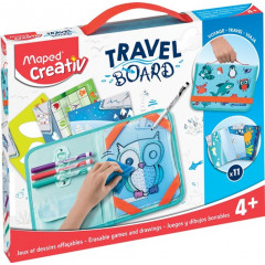 Whiteboard Maped Travel Board dieren transparant