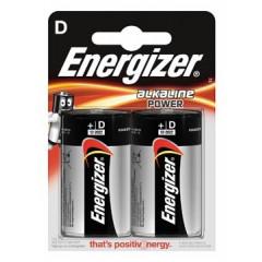 Batterij Energizer Alkaline Power D (2)
