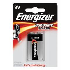 Batterij Energizer Alkaline Power 9V
