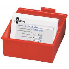 Systeemkaartenbak Han A5 rood
