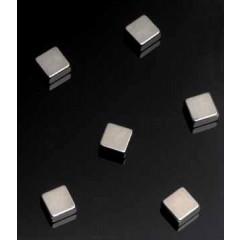 Magneet voor glasbord Naga 10x10x5mm staal kubus (6)