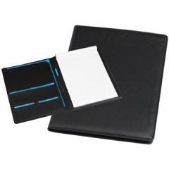 Schrijfmap Rillstab excellent 25x33cm lederlook zwart