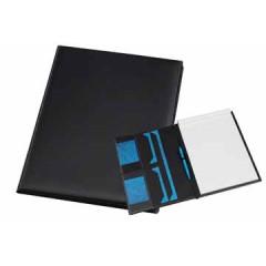 Schrijfmap Rillstab Antwerpen 24x32cm kunststof zwart