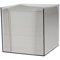 Memokubus Folia 90x90mm plastic 700vel wit