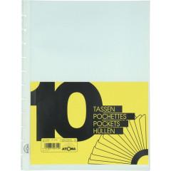 Showtassen Atoma voor showalbum A4+ transparant (10)