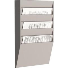 Sorteerrek Paperflow horizontaal 6 vakken grijs