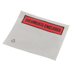 Tenzalopes zelfklevend documentenmapje 'documents enclosed', ft A7 (1000)