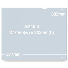 Anti-glare filter 3M voor beeldschermen van 19 inch 5:4