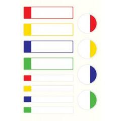 Etiket Avery zelflaminerend assorti formaten en standaard kleuren (24)