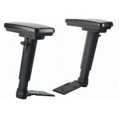 Armleuningen 2D zwart voor MEA540 MEA560