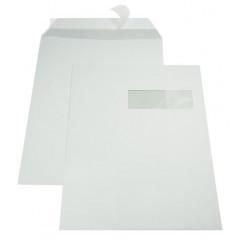 Zakomslag met balg 230X310X25 wit M/V rechts + strip (250)