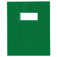 Schriftomslag PP 16,5x21cm met venster groen