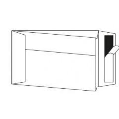 Zakomslag met balg 250X350X40 wit + strip (250)