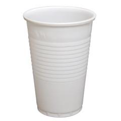 Drinkbeker PP 200ml wit voor koude dranken (100)