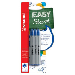 Vulling Stabilo voor roller EasyOriginal fijn blauw blister (6)