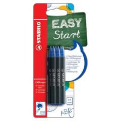 Vulling Stabilo voor roller EasyOriginal medium blauw blister (6)