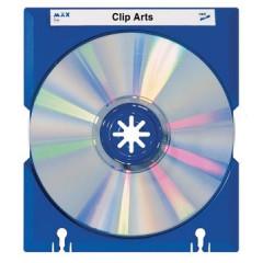 CD/DVD-doos Han max blauw