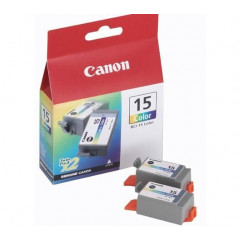 Cartridge Canon Inkjet BCI-15 DUO PIXMA iP90 2x349 pag. COL
