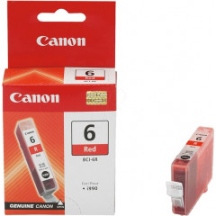 Cartridge Canon Inkjet BCI-6 BJC-800 2.300 pag. RED