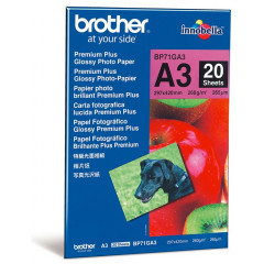Brother fotopapier premium + glossy A3 260gr (20)