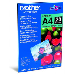 Brother fotopapier premium + glossy A4 260gr (20)