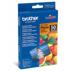 Fotopapier Brother Premium Plus Glossy 10x15 260g glanzend (20)