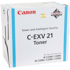 Toner Canon Color Laser C-EXV 21 imageRUNNER C2380i 14.000 pag. CY
