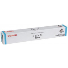 Toner Canon Color Laser C-EXV 34 imageRUNNER ADVANCE C2020i 19.000 pag. CY