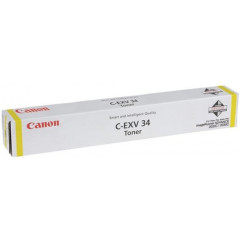 Toner Canon Color Laser C-EXV 34 imageRUNNER ADVANCE C2020i 19.000 pag. YEL