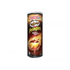 Chips Pringles hot & spicy 200gr