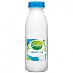 Halfvolle melk Campina PET 50cl (24)