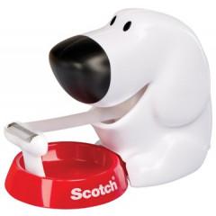 Plakbandafroller Scotch Hond