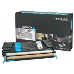 Toner Lexmark Color Laser C5240CH C524 5.000 pag. CY