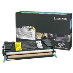 Toner Lexmark Color Laser C5240YH C524 5.000 pag. YEL