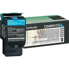 Toner Lexmark Color Laser C540H1CG C540n 2.000 pag. CY