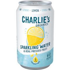 Vruchtenlimonade Charlie's Lemon blik 33cl (12)