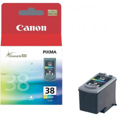 Cartridge Canon Inkjet CL-38 PIXMA iP1800 205 pag. COL