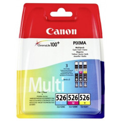 Cartridge Canon Inkjet CLI-526 PIXMA iP4850 RAINBOWPACK C/M/Y