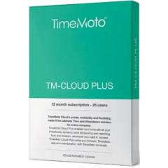 Software Safescan TimeMoto Cloud Plus voor tijdsregistratiesystemen vanaf 25 personen